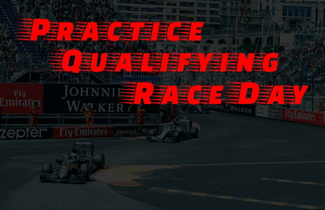Monaco Grand Prix Practice, Qualifying , Race Day